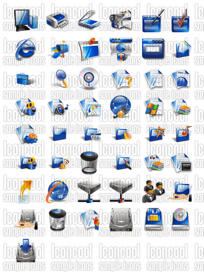 2000 Free XP Icons and Vista